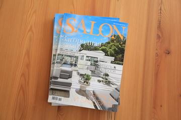Место под солнцем. Публикация в российском журнале SALON interior