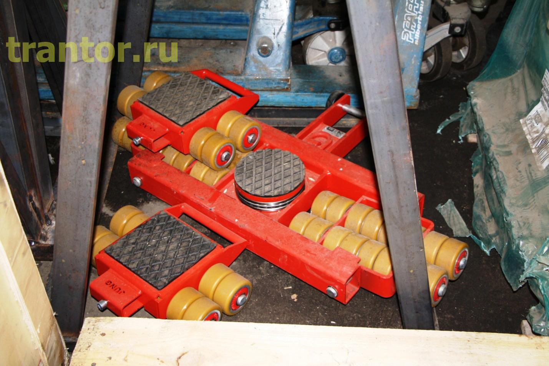 Закупили новое такелажное оборудование (тележки на 24 тонны) производство Германия.
