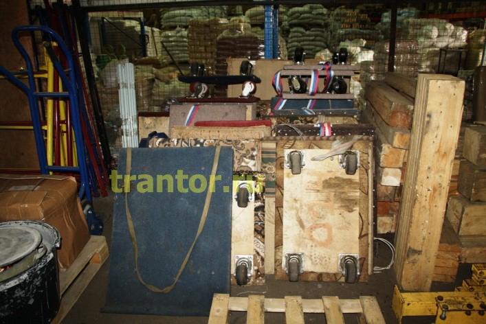 Проведена инвентаризация на складе оборудования для такелажных работ, стропальных работ.