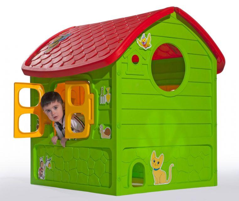 Пластиковые домики и площадки