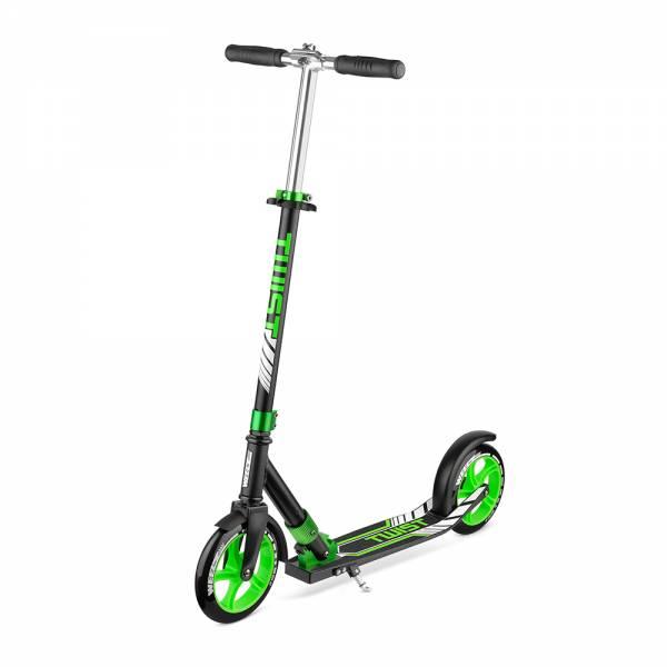Самокат Weelz Twist зеленый