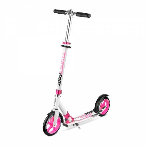 Самокат Weelz Twist бело-розовый