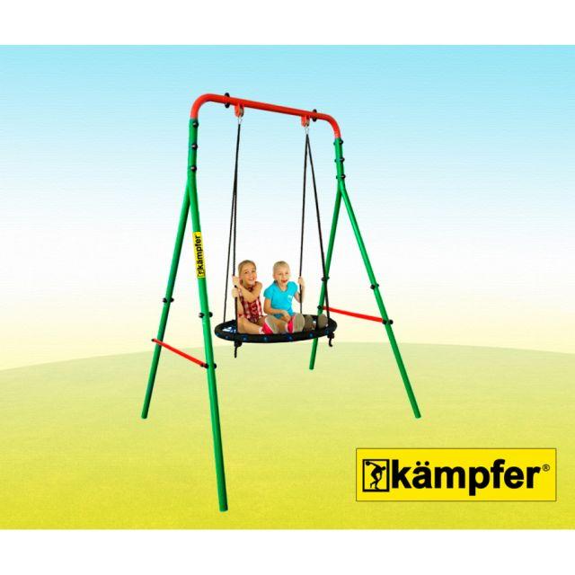 Уличные качели Kampfer Wippe (гнездо большое зеленое)