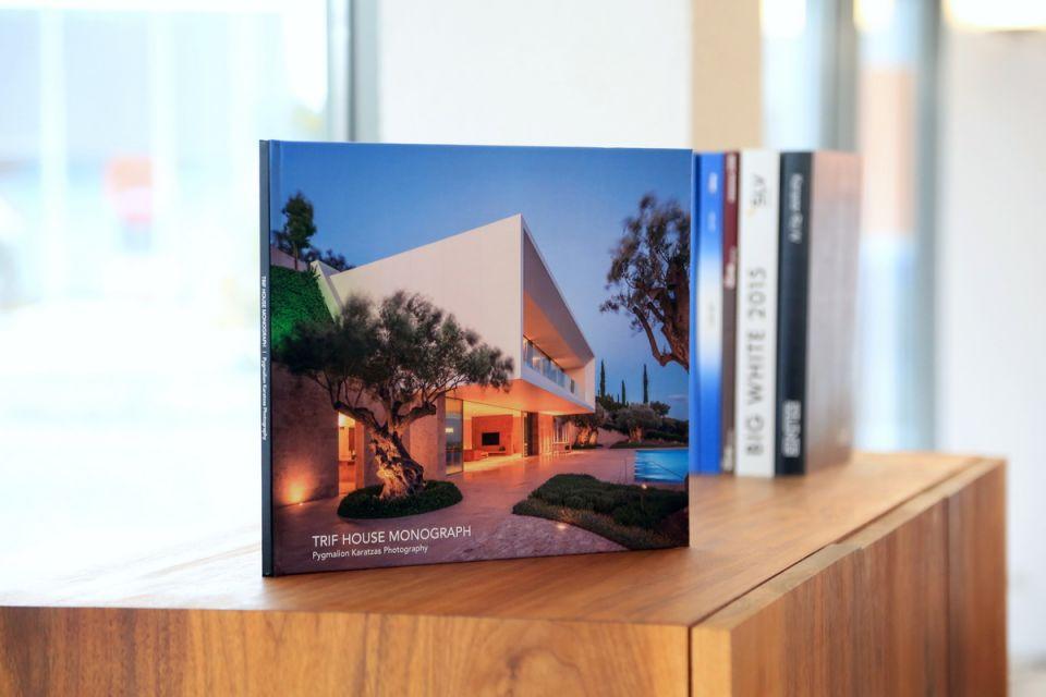 Architectural monograph of the TRIF HOUSE villa in Porto Heli (Greece)