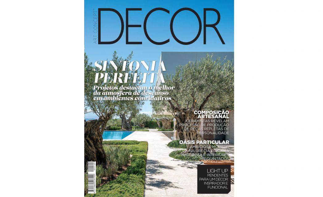 Publication in DECOR magazine (Brazil)