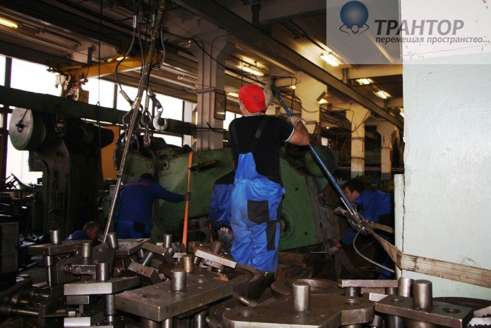 Демонтаж металлоконструкций и оборудования