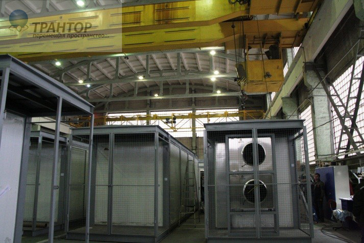 Комплексный такелаж цехов и заводов