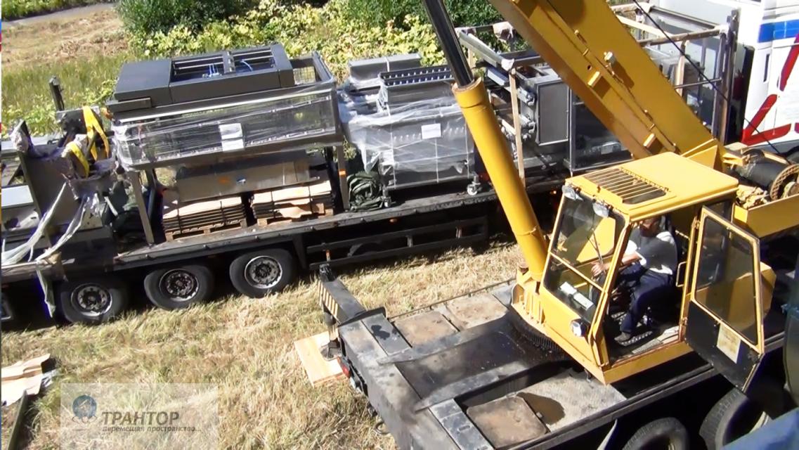 Перевозка негабаритный грузов