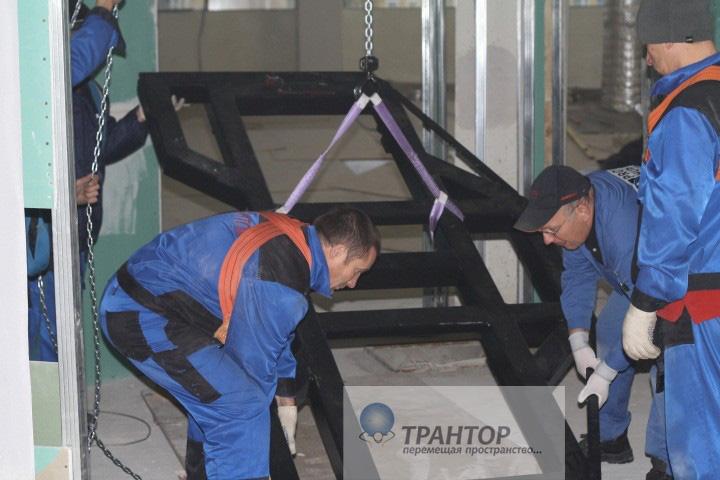 Перевозка станков и оборудования