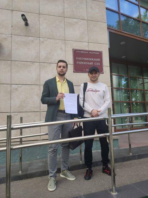 Нашим адвокатам удалось добиться освобождения своего доверителя прямо в зале суда!