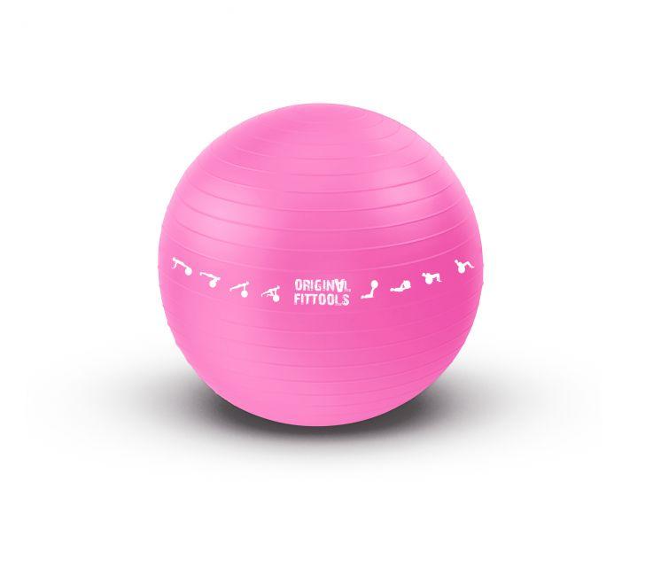 Гимнастический мяч 55 см для коммерческого использования Original FitTools