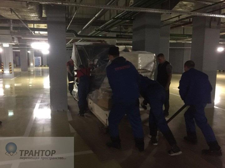Такелажные работы Москва