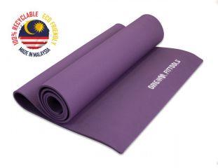 Коврик для йоги 1900х600 6 мм фиолетовый OFT