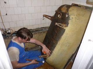 Демонтаж ванны.