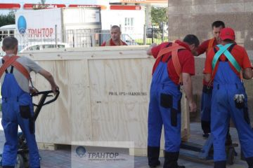 Успешно, точно в срок, выполнена транспортировка и такелаж оборудования 78 тонн!