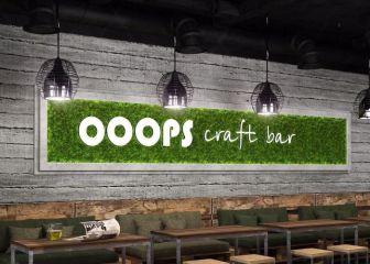 Ooopscraftbar - настоящий крафтовый бар с широким ассортиментом разливной продукции