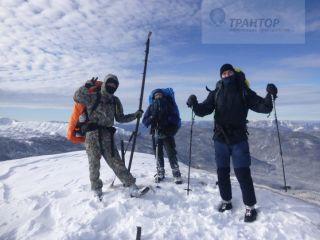 Зимний поход на Кавказ с участием сотрудников ТРАНТОР.