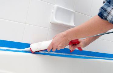Герметизация ванны силиконом