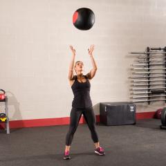Тренировочный мяч мягкий WALL BALL 6,4 кг (14lb) Body-Solid