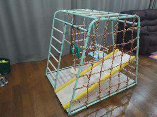 Детский спортивный комплекс Вертикаль Веселый малыш Maxi new color