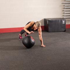 Тренировочный мяч мягкий WALL BALL 7,3 кг (16lb) Body-Solid