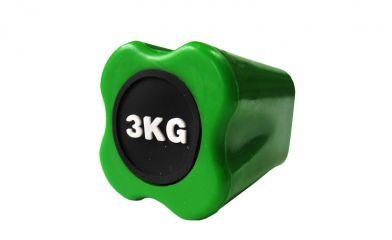 Бодибар Original FitTools 3 кг светло-зеленый наконечник