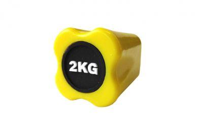Бодибар Original FitTools 2 кг желтый наконечник