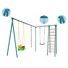 Дополнение Элит - серии Trampoline park к батутам Baby-Grad