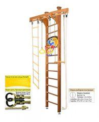 Шведская стенка Kampfer Wooden Ladder Ceiling Basketball Shield 3м с матом