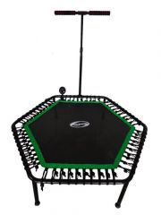 Фитнес -батут SportElite 135см FB-1351 с ручкой и компьютером
