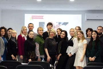 Михаил Саминский и Виктория Бенталь, декабрь 2019 года