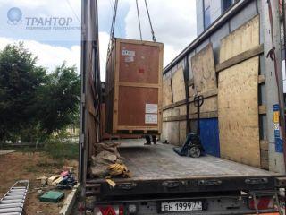 Такелаж КТ модуля на базе контейнера. Такелажные услуги. Стропальные работы. Транспортные услуги. Такелаж медицинского оборудования.