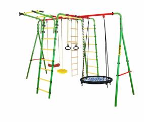 Уличный детский спортивный комплекс Kampfer Wunder (Гнездо большое зеленое)