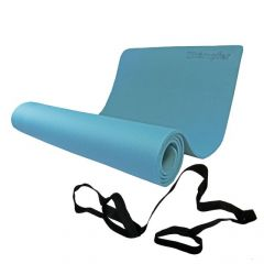 Коврик для йоги Kampfer Yoga Mat (60х180х0,65 см) синий