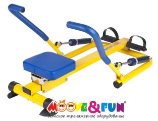 Тренажер детский механический Гребной Moove&Fun SH-04
