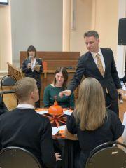 Претенденты на приобретение статуса адвоката состязались за игровым столом