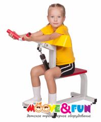 Детский тренажер Бицепс-трицепс Moove&Fun MF-E02