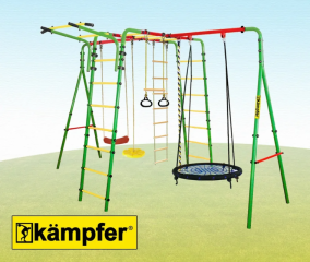 Уличный детский спортивный комплекс Kampfer Wunder (Гнездо большое)