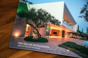 Architectural monograph of the TRIF HOUSE villa in Porto Heli (Greece)
