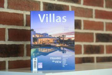 Публикация в греческом журнале Villas – ежегодном сборнике лучших архитектурных проектов в Греции