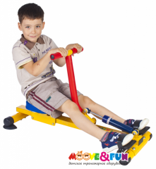 Тренажер детский механический Гребной Moove&Fun SH-04-A
