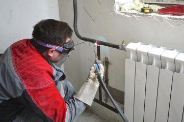 Замена и ремонт радиаторов отопления.