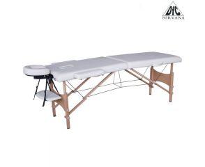 Массажный стол DFC NIRVANA, Optima, дерев. ножки, цвет кремовый (Cream) TS20110S_C