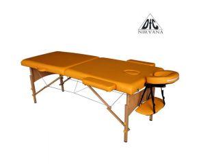 Массажный стол DFC NIRVANA, Relax, дерев. ножки, цвет горчичный (Mustard) TS20111_M