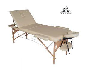 Массажный стол DFC NIRVANA, Relax Pro , дерев. ножки, цвет бежевый (Beige) TS3021_B2