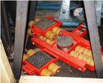Закупили новое такелажное оборудование (тележки на 12 тонн) производство Германия