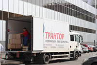 Офисный переезд Компании МТС