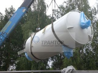 Такелаж емкостей 12 тонн!
