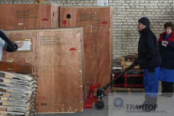 Перевозка торгового оборудования 47 тонн!