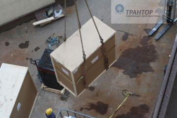 Такелаж оборудования, разгрузочные работы, стропальные работы 180 тонн.